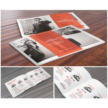 8.5x5.5 Booklet Printing