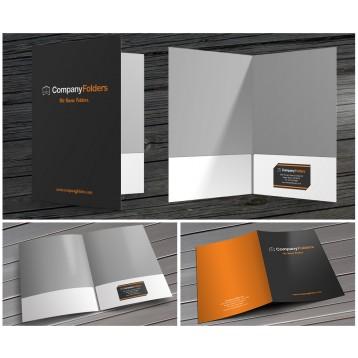 9x12 Pocket Folder Printing
