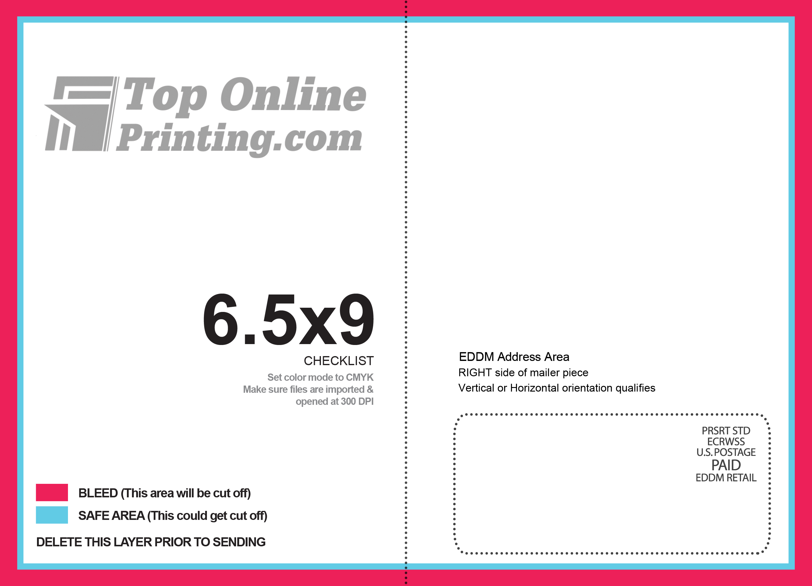 How To Address Every Door Direct Mail Eddm Postcard