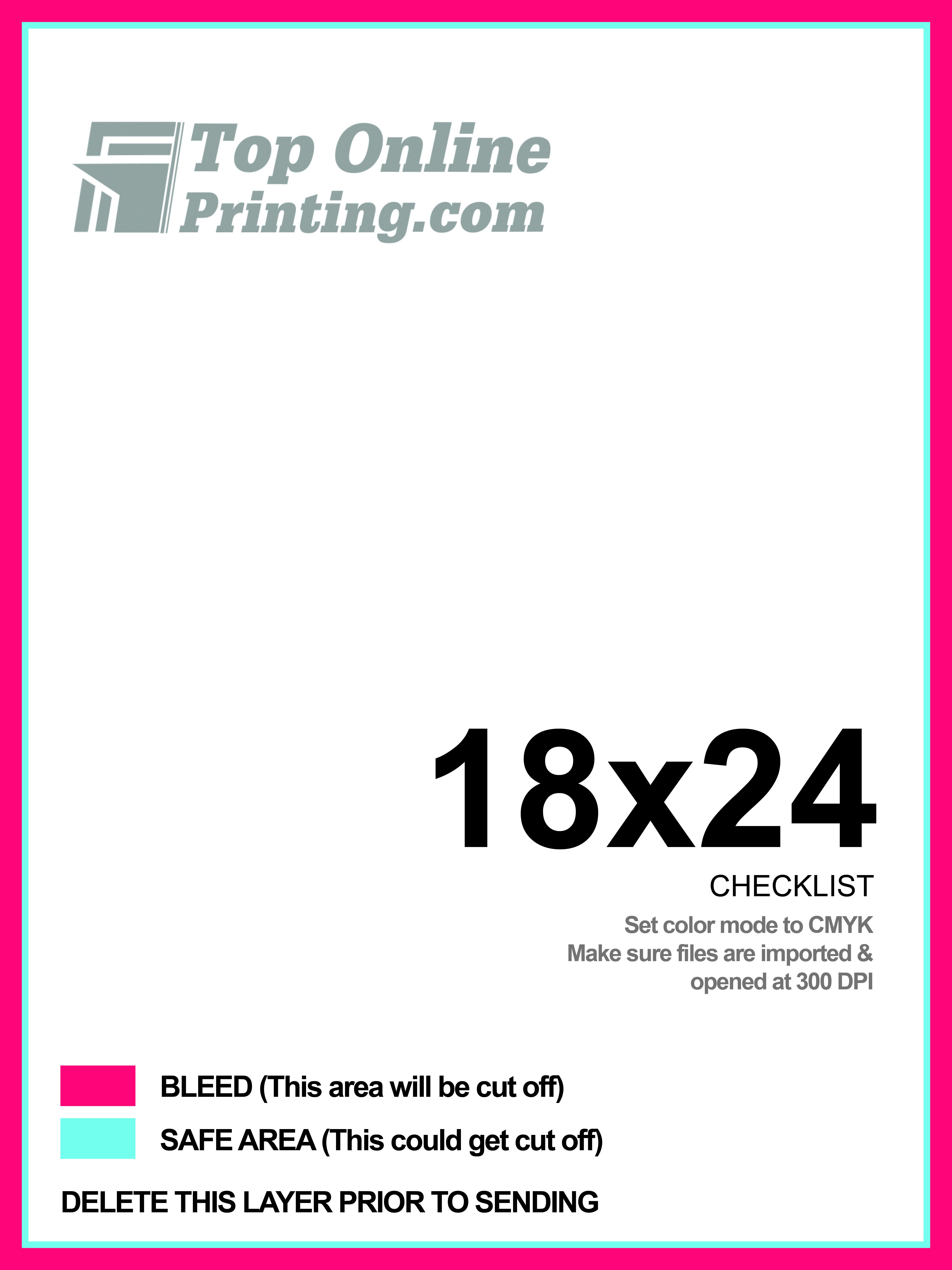 18x24 Poster Template JPG